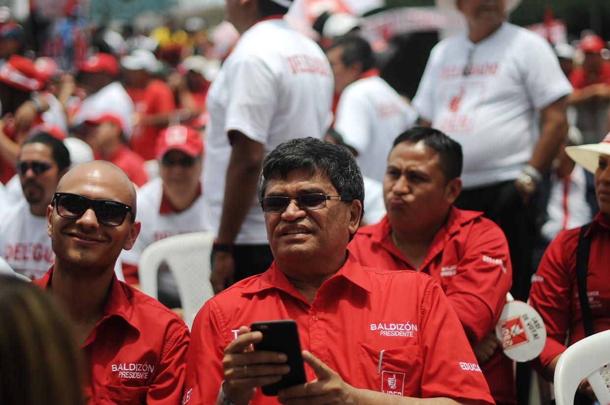 El alcalde Aroldo Medrano, sindicado de actos de corrupción, también está entre los caudillos metropolitanos con los que cuenta Baldizón.