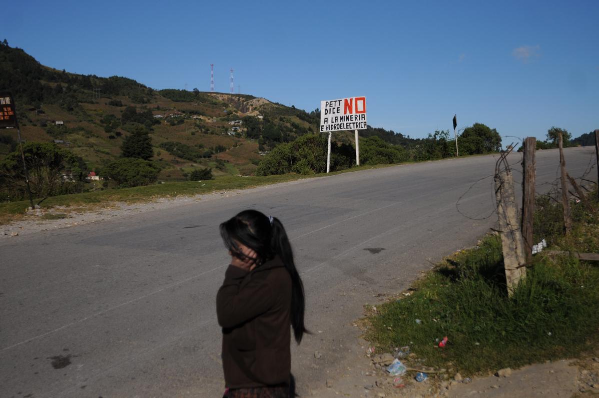 La aldea Pett se pronuncia en contra de la minería e hidroeléctrica.