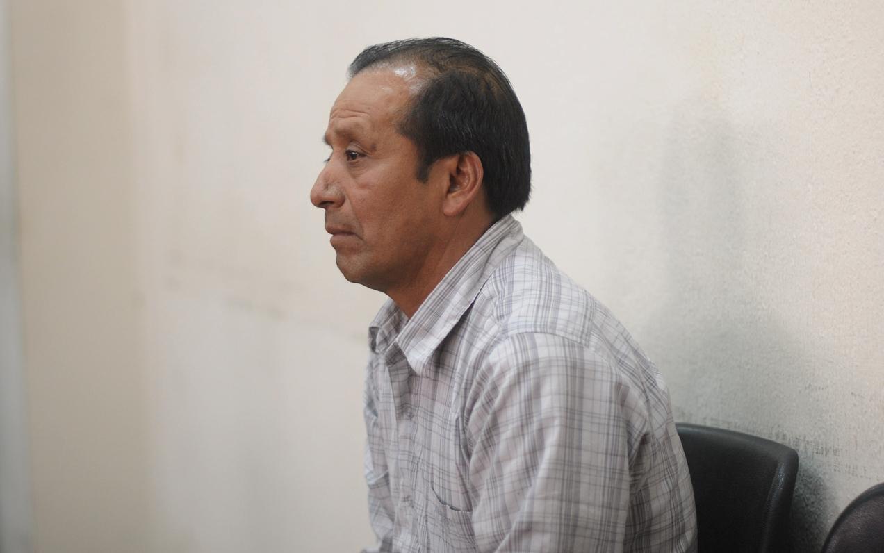 Pablo Antonio Pablo (en la foto) y Esteban Bernabé Mateo sobrevivieron al ataque armado ocurrido el 1 de mayo del 2012 donde murió Andrés Pedro Miguel.