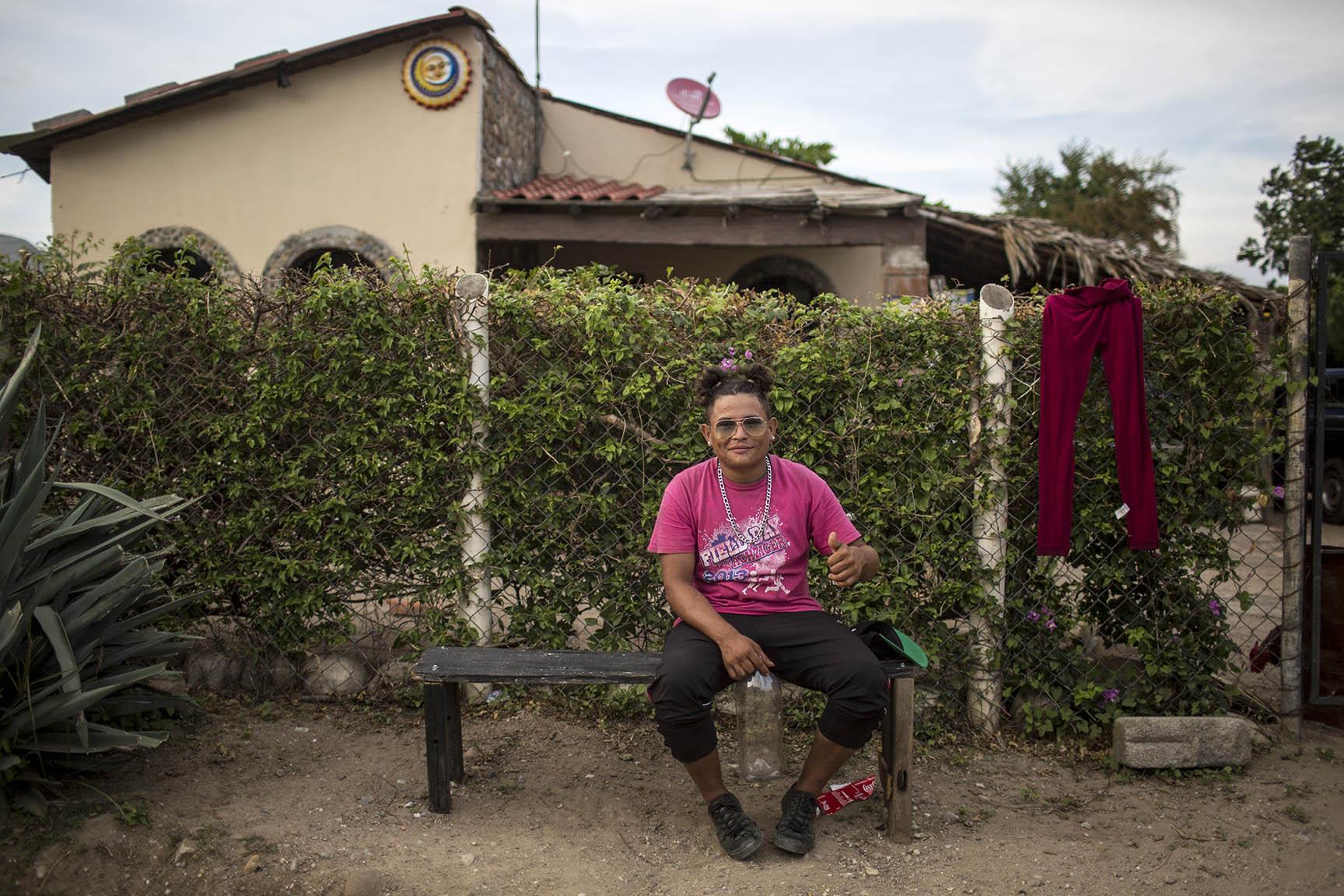 Henry Benítez, 21, originario de Santa Rita Lloro, Honduras. En Estados Unidos quiere alcanzar a su hermana y varios primos, aunque desconoce el lugar donde viven / Simone Dalmasso