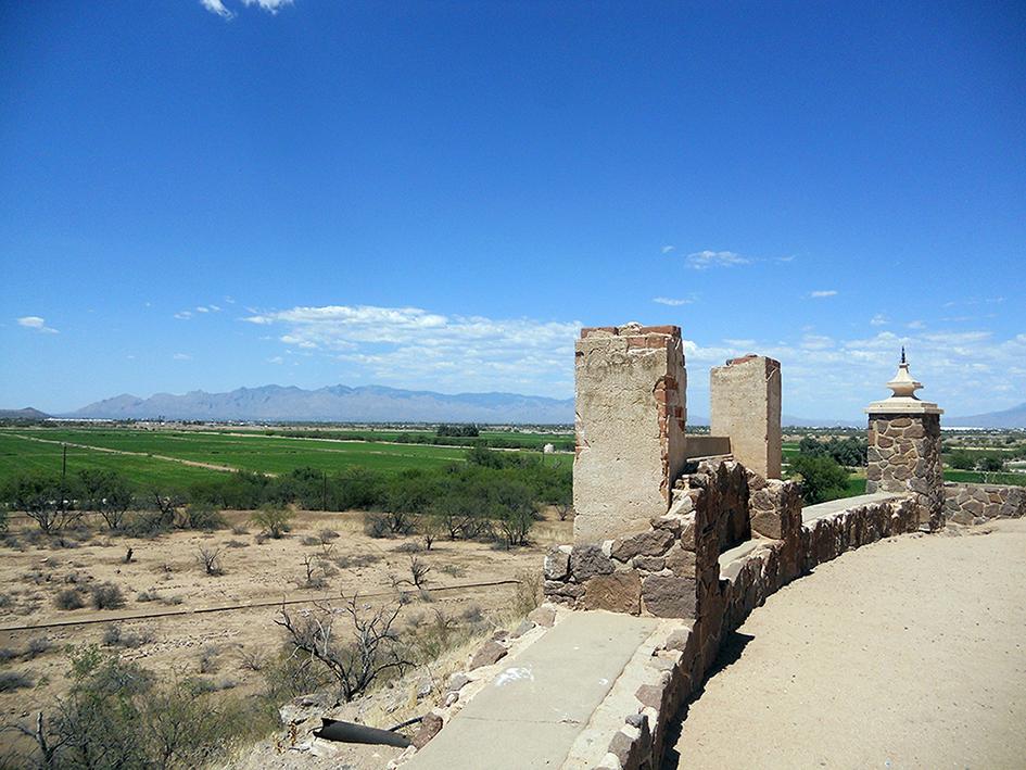 Vista del desierto de Arizona. Foto de Héctor Silva