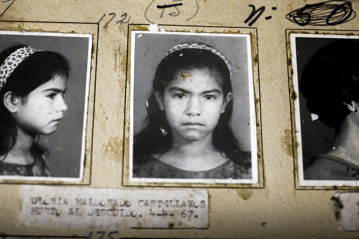 Gloria Maldonado Castellanos, detenida el 04/04/1967 por hurto al descuido
