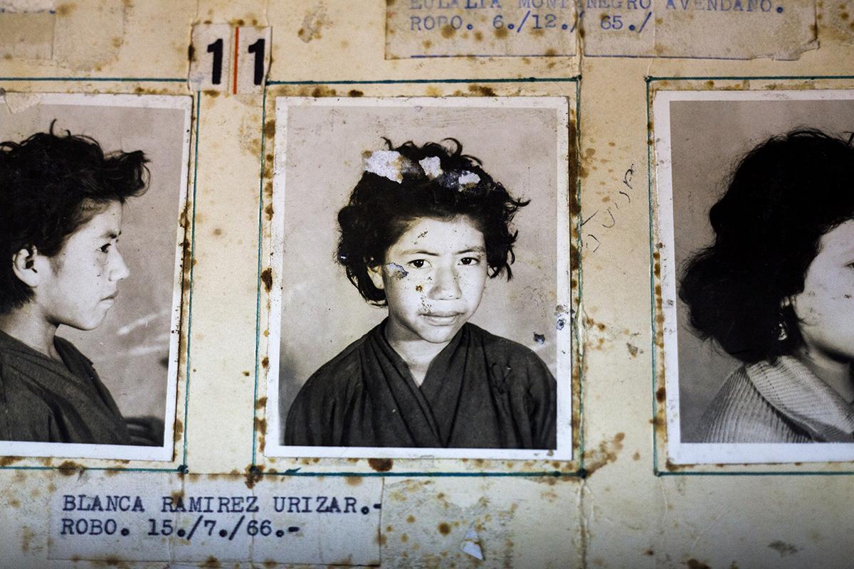 Blanca Ramírez Urizar, detenida el 15/07/1966 por robo