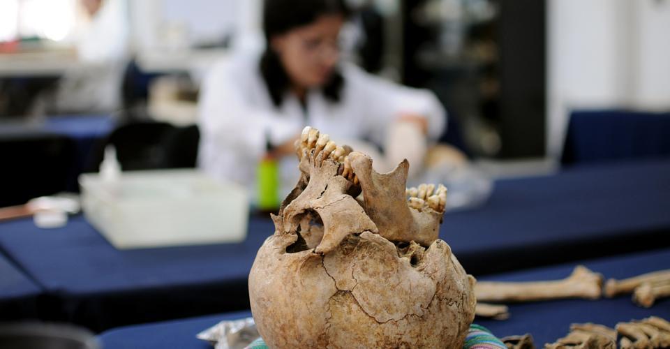 Antropólogos forenses ya han conseguido la identificación de víctimas.