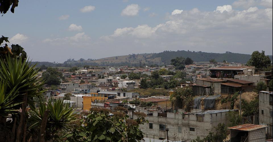 Vista de Patzún, Chimaltenango.