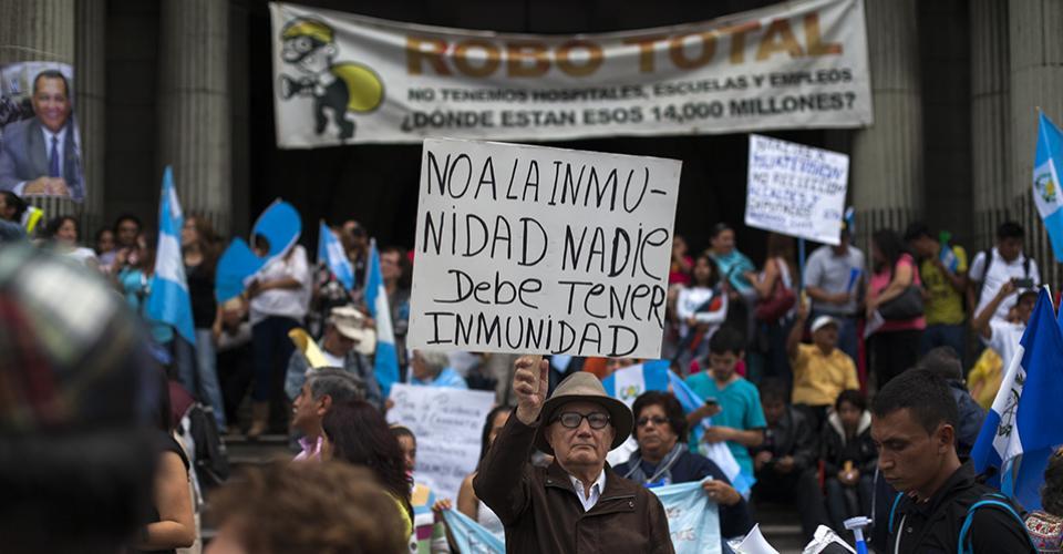 La Plaza convocó a nuevo a cientos de guatemaltecos.