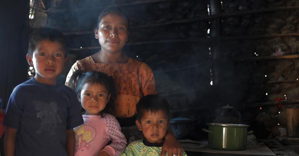 Sandra Majzul e hijos.