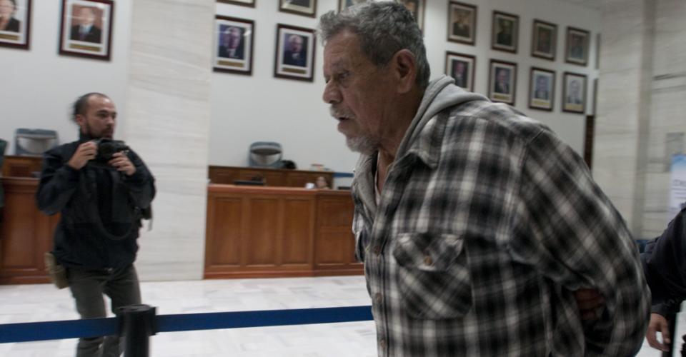 El jefe de los comisionados militares, Heriberto Valdez Asij, deberá cumplir una condena de 240 años, por haber participado en la desaparición forzada de siete campesinos y la violación sexual —como delito de lesa humanidad— cometida contra las mujeres que sobrevivieron a Sepur Zarco.